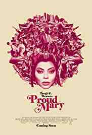 Poster Proud Mary 2018 Babak Najafi