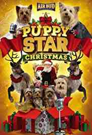 Poster Puppy Star Christmas 2018 Robert Vince