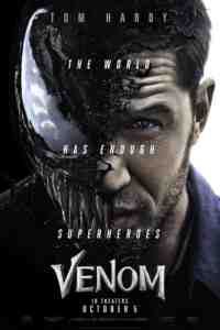 venom coming soon poster