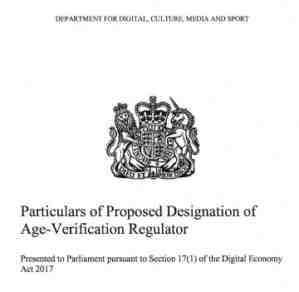 dcms age verification risk assessment