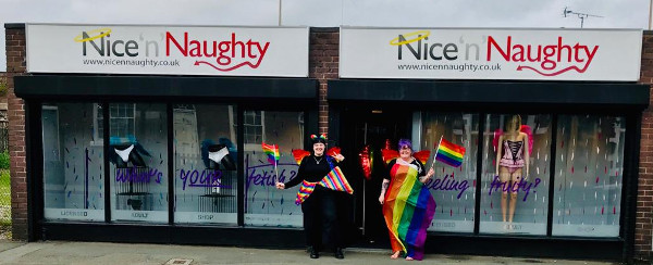 Nice n Naughty and Chester Pride