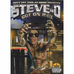 Steve O: Out on Bail DVD cvover
