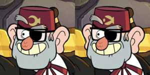 grunkle stans fez symbol